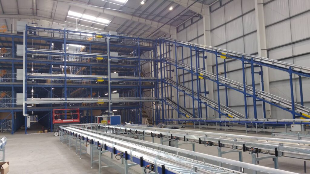 warehouse mezzanine automation